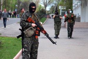 Бой между луганскими пограничниками и террористами возобновился