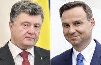 Дуда пообещал лично разобраться с демонтажем памятника в Грушовичах