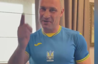 Кличко закликав українців підтримати нашу збірну з футболу у сьогоднішній грі