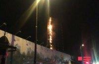 В Баку снова загорелась Trump Tower (обновлено)