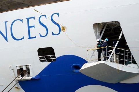 З лайнера Diamond Princess евакуюють людей похилого віку і людей з хронічними захворюваннями