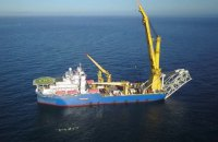"""Российское судно-трубоукладчик прибыло в Германию для достройки """"Северного потока - 2"""""""