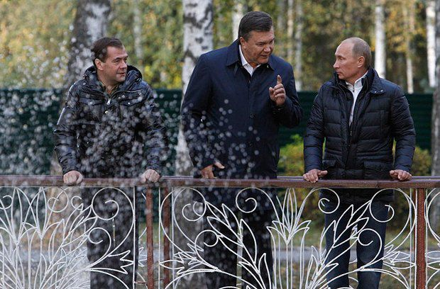 Виктору Януковичу больше нечего пообещать России - разве что ГТС