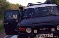 В Луганской области обстреляли два автомобиля: погибла семейная пара (добавлены фото)