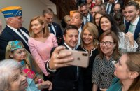 """Зеленский поблагодарил украинскую диаспору в США: """"Вы наши лучшие дипломаты, вы действительно наши лоббисты"""""""
