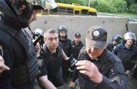 На незаконной застройке в Протасовом Яру произошли столкновения между полицией и активистами (обновлено)