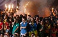 Во время Евро столичную фан-зону посетили 2,2 млн человек