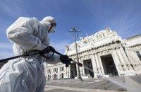 В Италии за сутки зафиксировали почти 800 смертей из-за коронавируса