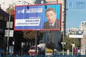 """Треть голосовавших на Донбассе поддержали """"Оппозиционный блок"""""""