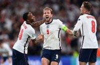 Англія вперше в історії вийшла у фінал чемпіонату Європи