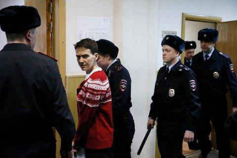 Савченко етапують у Ростов