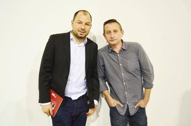 Дмитрий Лазуткин и Сергей Жадан