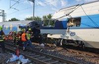 У Чехії зіткнулися пасажирський і вантажний потяги