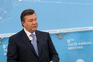 Янукович выступает за углубление сотрудничества с Молдовой