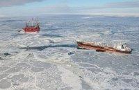 Росія почала торгувати нафтою з арктичного шельфу