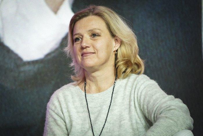 Юлія Лапутіна на Українському Жіночому Конгресі, 2018 р