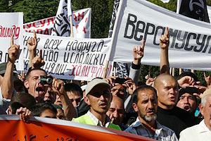 Кримські мусульмани виступили на захист Аллаха