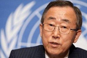 Пан Гі Мун: для відправлення миротворців в Україну потрібен мандат Ради безпеки
