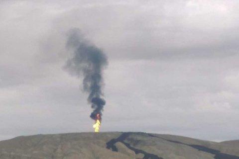ВАзербайджанской столице  случилось  извержение грязевого вулкана