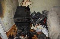 В Одесі через коротке замикання телевізора ледь не згоріла квартира