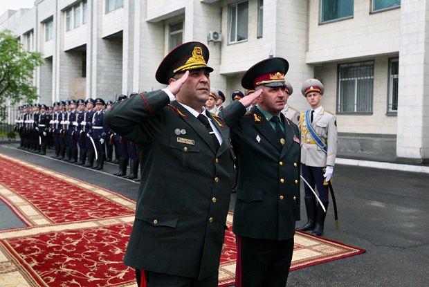 Микола Балан (справа) і Леван Гамкрелідзе