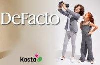Провідний турецький бренд одягу DeFacto розпочинає співпрацю з українською платформою Kasta.ua