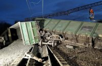 В Днепропетровской области 8 грузовых вагонов сошли с рельсов, некоторые поезда задерживаются (обновлено)