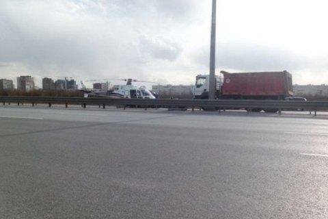 У Петербурзі вертоліт потрапив у ДТП
