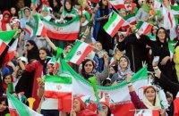 В Иране женщины впервые за 40 лет посетили футбольный матч