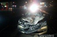 Двое мужчин погибли под колесами автомобиля на Кольцевой дороге в Киеве