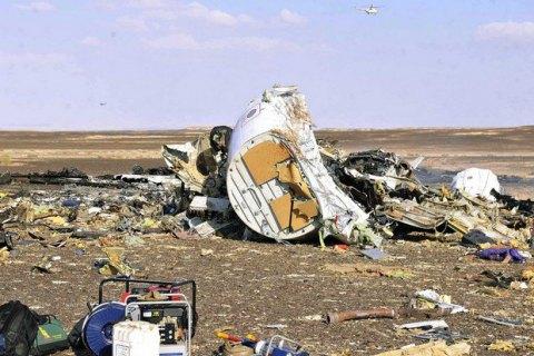 Упавший в Египте российский самолет развалился в воздухе