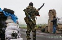 Бойовики обстріляли позиції сил АТО на трасі перед КПП у Донецькій області