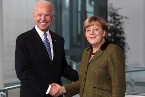 """Байден і Меркель обговорять наслідки """"Північного потоку-2"""" для України, - Білий дім"""