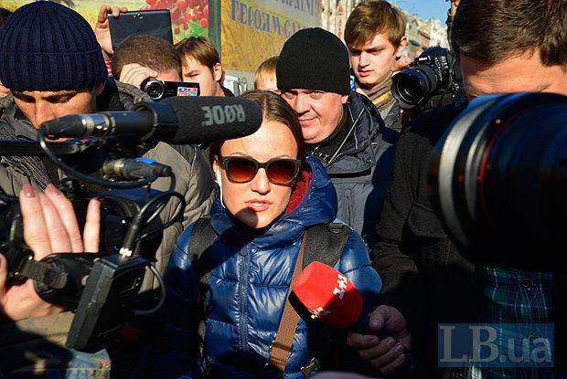 Задержанная журналистка Life News