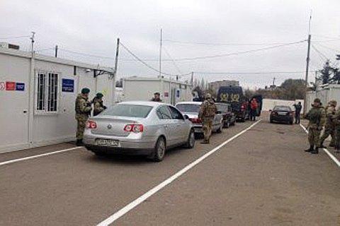 Боевики обстреляли КПВВ Майорск из крупнокалиберных пулеметов