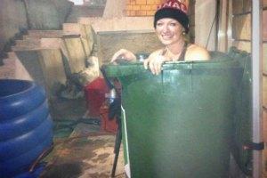Канадська чемпіонка прийняла ванну у сміттєвому баку