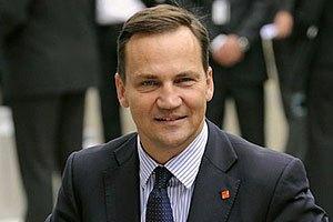 Сейм Польши простил Сикорскому скандальное интервью о разделе Украины