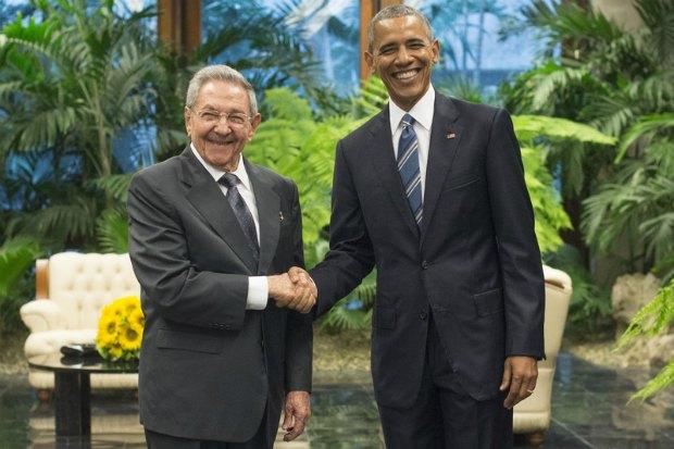 Рауль Кастро і Барак Обама в Гавані