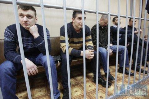 """Экс-""""беркутовцев"""", обвиняемых в расстреле Майдана, суд оставил за решеткой до 26 ноября"""