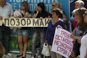 Активиста, выступавшего против строительства сына Януковича, хотят сделать психом