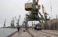 Вантажопотік у портах Азова скоротився удвічі через дії Росії