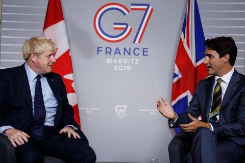 Канада выступила против возвращения РФ в состав G7 до окончания агрессии против Украины
