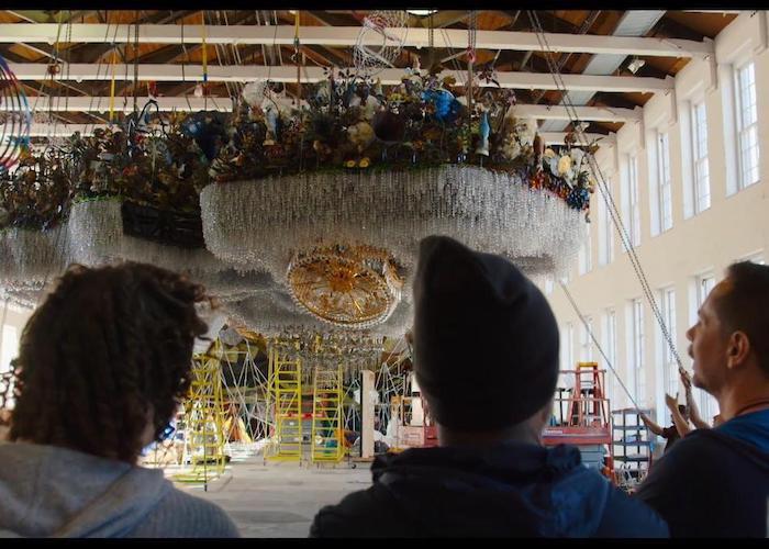 Кадр з фільму «Місто-музей»