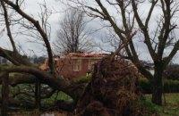 На американский штат Кентукки обрушился мощный шторм с торнадо