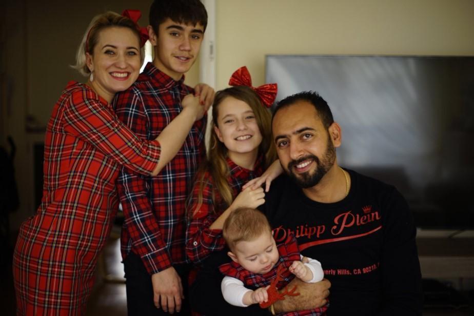Юрій з родиною