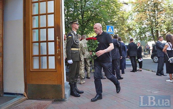 Замминистра по вопросам временно оккупированных территорий и внутренне перемещенных лиц Георгий Тука на церемонии