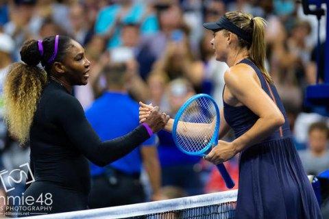 Серена Уильямс уничтожила Шарапову в первом круге US Open