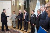 Порошенко подякував послам країн G7 за підтримку України
