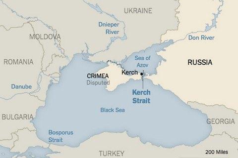 NYT відмовилася виправляти карту з Кримом на прохання України