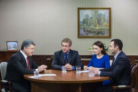 Порошенко: коалиционное соглашение выполнено только на 30%